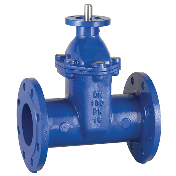 ART  520A Ductile iron (GJS 400) PN 16 gate valve oval body